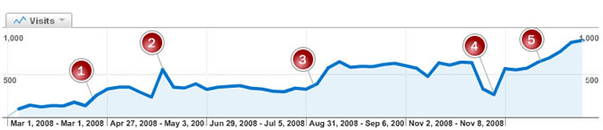 Semi-Directory Visitor Statistics