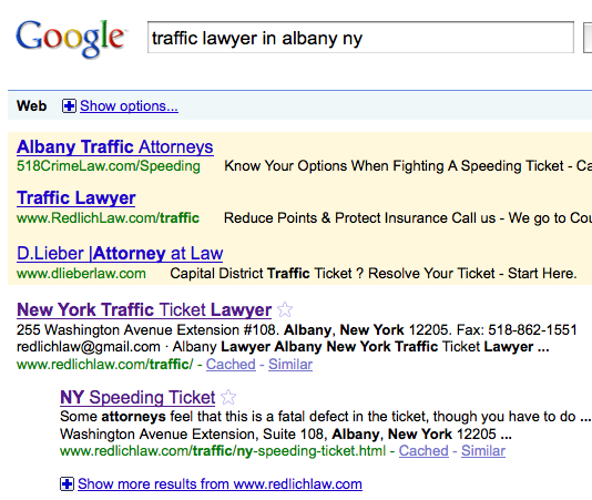 Traffic Lawyer