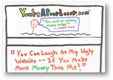 youreapoorloser.com