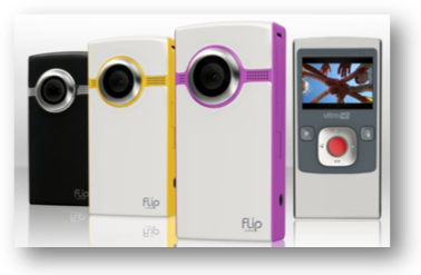 Flip camcorders