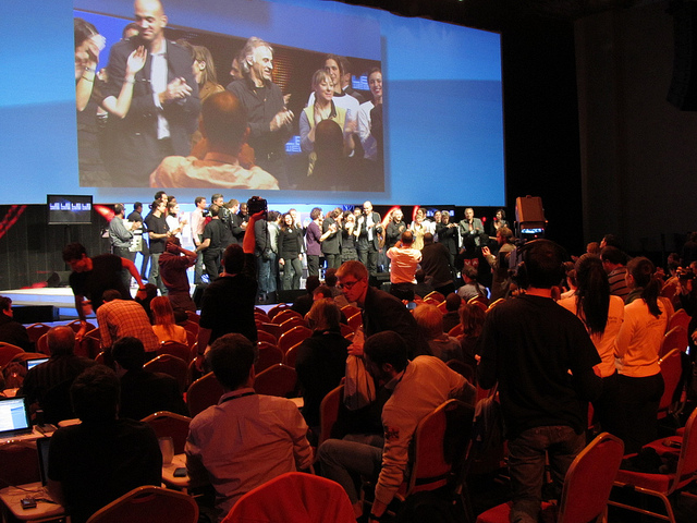 End of LeWeb2010