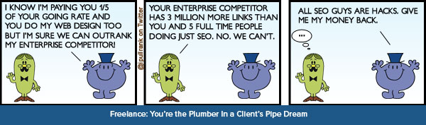 Freelance Scenario: You're a Plumber in a Pipe Dream