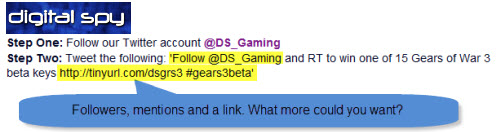 Digital Spy Gears of War Competition