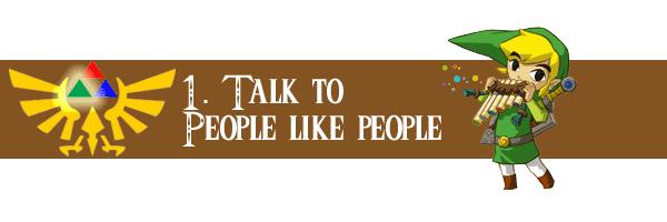 Talk to People Like People