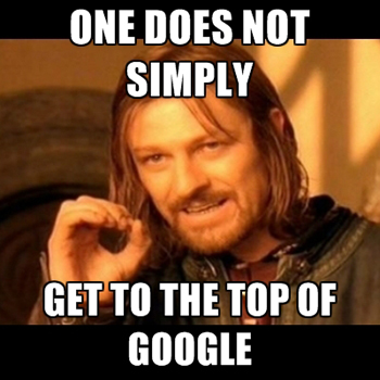 One Does Not Simply Boromir