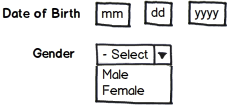 Are you collecting DOB and Gender in your web forms?
