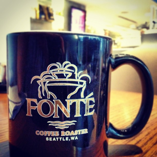Fonte Coffee Roaster and Wine Bar: 1321 1st Avenue, Seattle, WA 98101