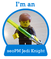I'm an seoPM Jedi knight Badge
