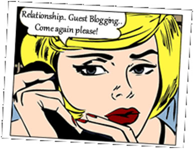 Guest Blogging Cartoon