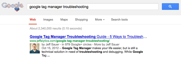 Google Tag Manager Troubleshooting #1