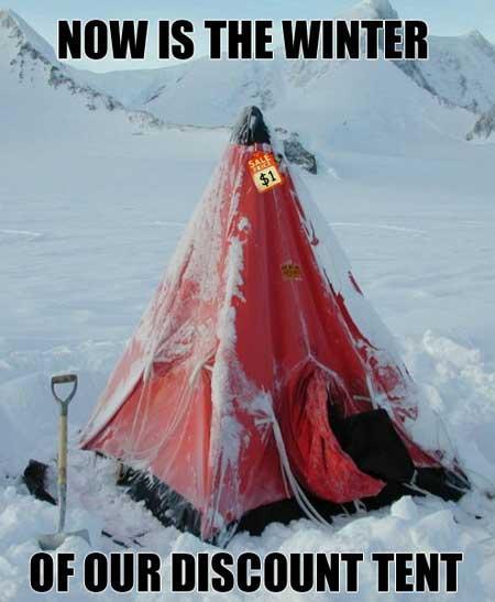 Discount Tent - Get It?