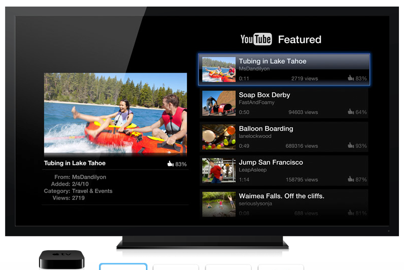 YouTube-Apple-TV