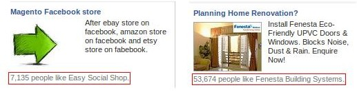 Facebook Marketplace Ads with Social Component