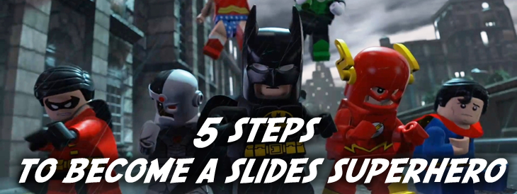 Slides Presentation Superhero