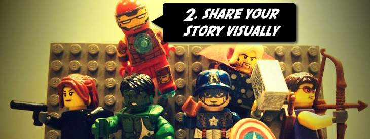 Share your story visually
