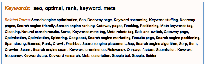 "Metaglossary.com - Definitions for ""search engine optimization"" 2014-08-11 14-56-26"