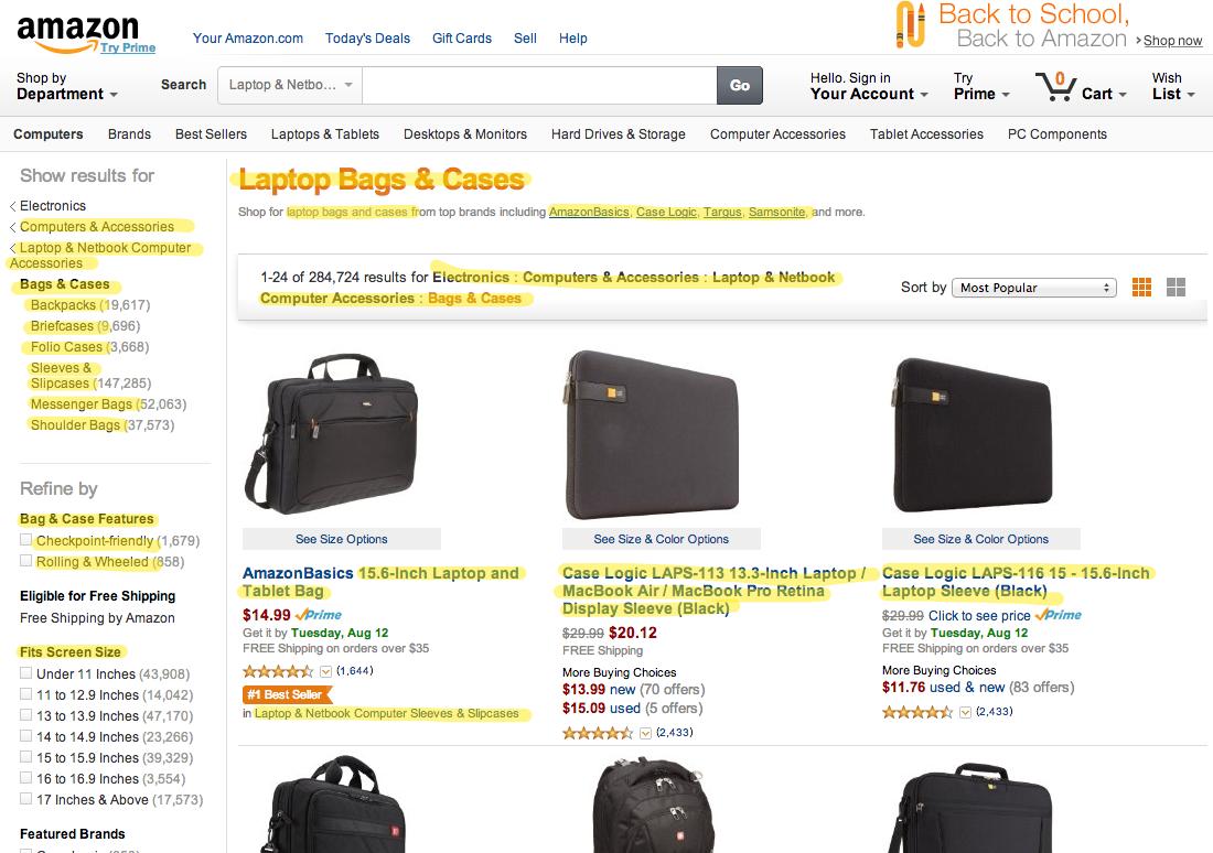 Amazon.com: Bags & Cases: Electronics: Sleeves & Slipcases, Messenger Bags, Shoulder Bags, Backpacks & More 2014-08-11 14-28-16