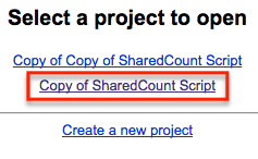 sharedcount script