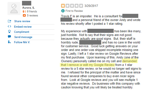 How to Get a Customer to Edit Their Negative Review 8
