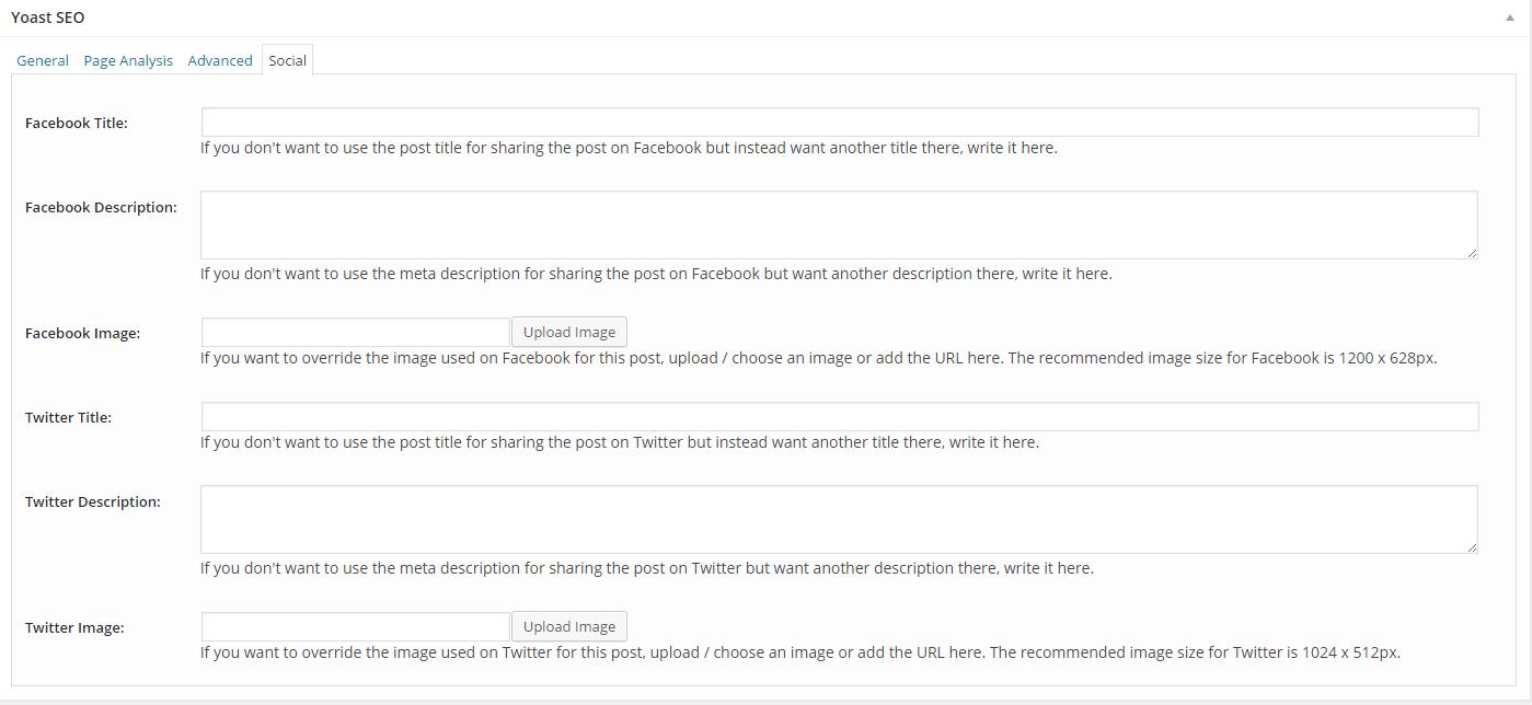 "The ""Social"" tab of the Yoast SEO Toolbox"