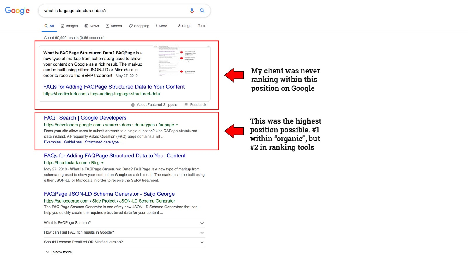 The Dirty Little Featured Snippet Secret: Where Humans Rely on Algorithmic Intervention [Case Study] 3