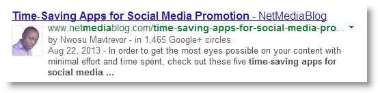 Misattribution in Google Authorship results in Search