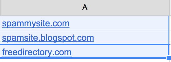 url spreadsheet