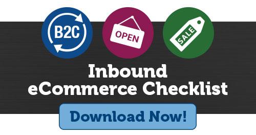 inbound ecommerce checklist