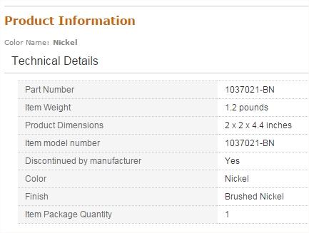 Kohler sink stopper product info from hell