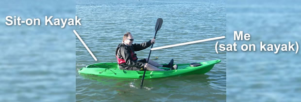 Me. Sat on kayak