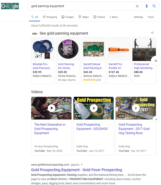 There's Gold In Them Thar SERPs: Mining Important SEO Insights from Search Results 4