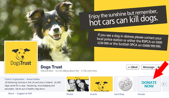Dogs Trust Facebook Page