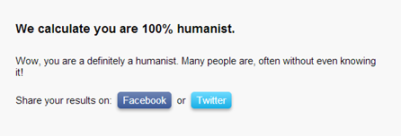 Are You A Humanist? Quiz App