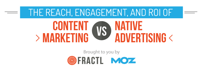 native advertising vs. content marketing research
