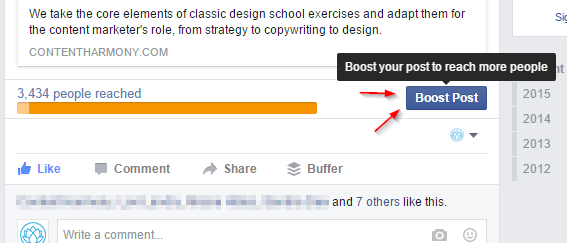 facebook-boost-post-button