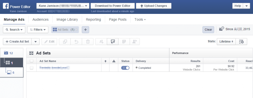 Things Ive Learned While Learning Facebook Ads Moz - Facebook ad grid template