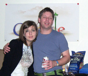 Danny & Mystery Guest at Google