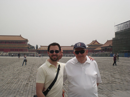 Rand in Forbidden City, Beijing
