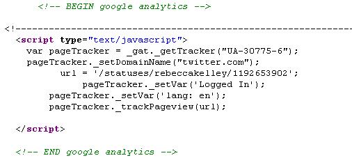 Source for Twitter JS error