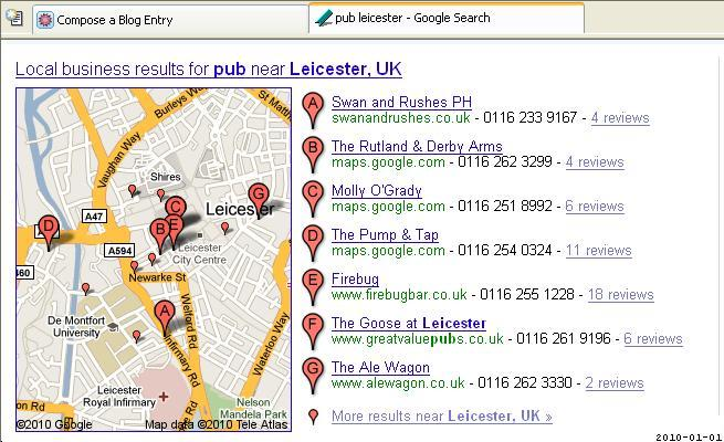 UK Telephone Numbers and Local Search SEO - YouMoz - Moz