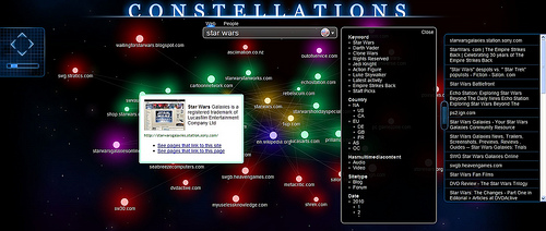 CONSTELLATIONS showing off all the features
