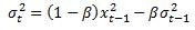 RiskMetrics equation