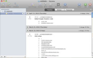 Versions, a Mac Client for Subversion