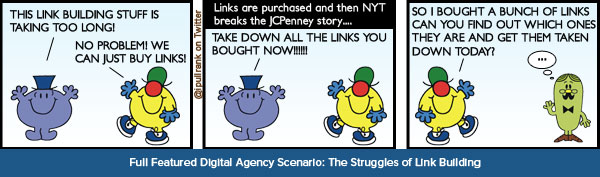 Big Agency Scenario: The Struggles of Link Building