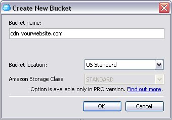 Create New Bucket
