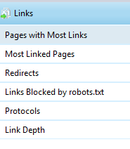 links reports