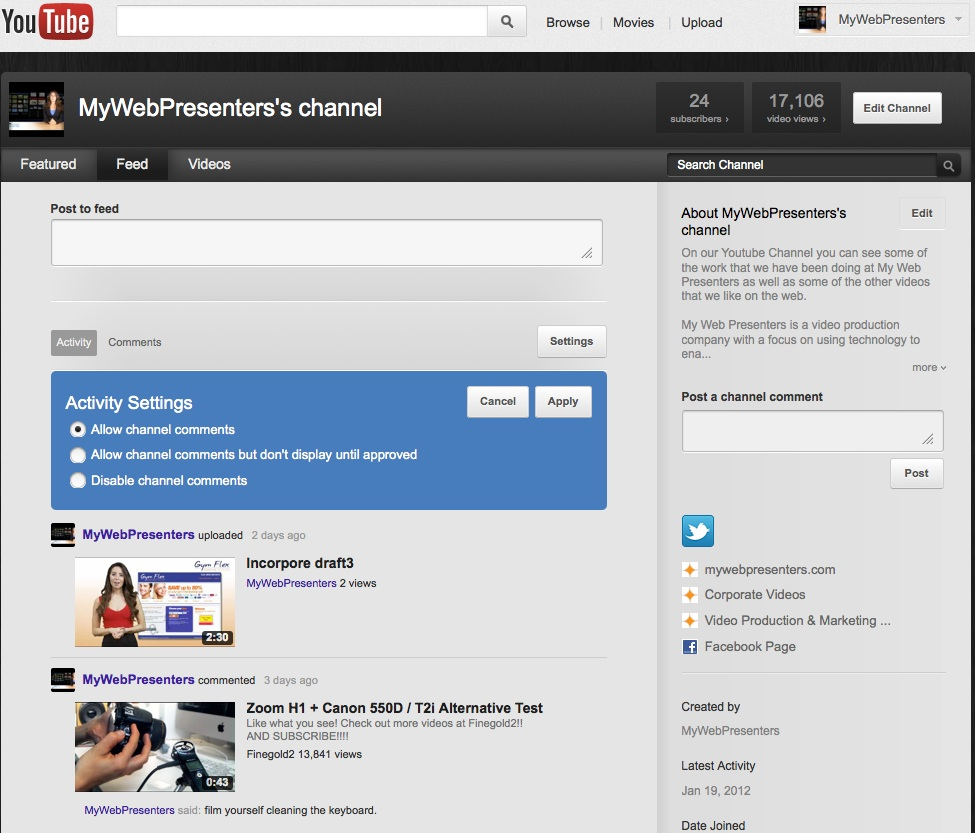 Set Up Your YouTube Channel for SEO Success - YouMoz - Moz