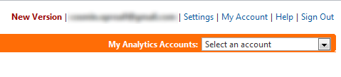 New Google Analytics Version