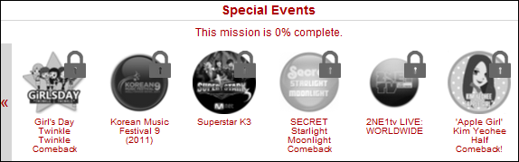 allkpop - Special Badges