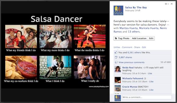 Salsa Dancing Meme
